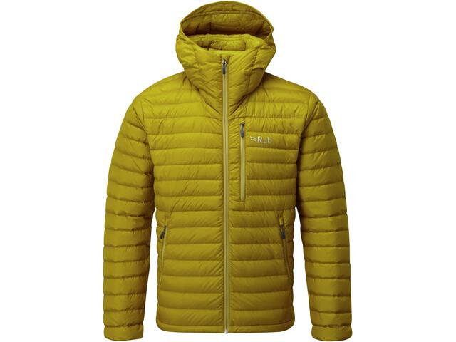 Rab Microlight Alpine Jacket Herren dark sulphur/sulphur